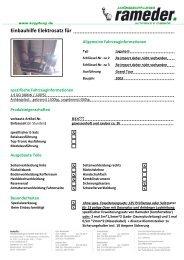 Einbauhilfe Elektrosatz für