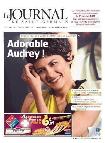 Adorable Audrey - Saint Germain-en-Laye