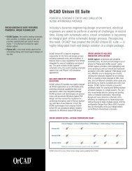 OrCAD Unison EE Suite - FlowCAD