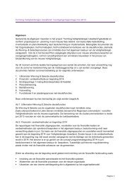 Voortgang werving en selectie Trigion - Veiligheidsregio IJsselland