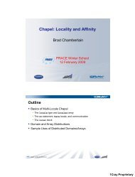 Locality and Affinity - Prace Training Portal