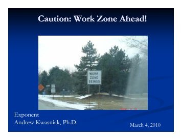 Caution: Work Zone Ahead! - azite