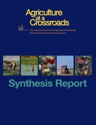 -Agriculture at a crossroads - Synthesis report-2009Agriculture_at_Crossroads_Synthesis_Report