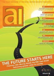 April / May 2012 Issue - Retail Motor Industry Federation