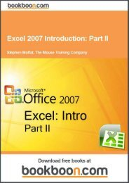 Excel 2007 Introduction: Part II Language English Format - Tutorsindia