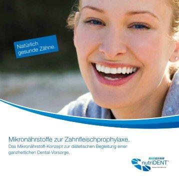 Mikronährstoffe zur Zahnfleischprophylaxe. - Biogena Deutschland ...