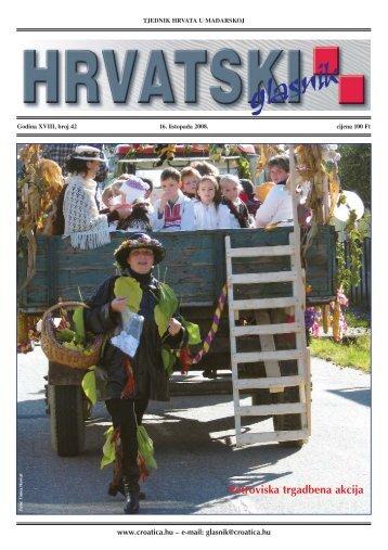 42. broj 16. listopada 2008.