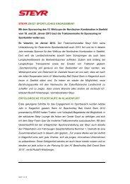 Presseinformation Case IH & Steyr