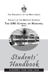 Students Handbook 2008-2009 - Uwi.edu