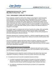 AR 1045-01 Harassment Complaint Procedures