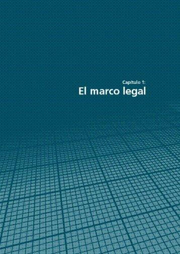 Capítulo 1: El marco legal en los países - Resdal