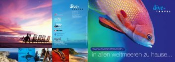 Messekatalog 2012 - Dive and Travel