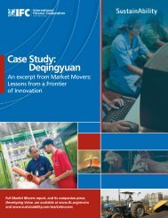 Case Study: Deqingyuan - IFC