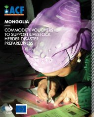 mongolia - Action Against Hunger
