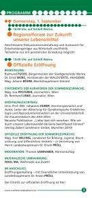 Sommergespräche 2011 - Waldviertel Akademie - Page 3