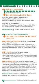 Sommergespräche 2011 - Waldviertel Akademie - Page 4
