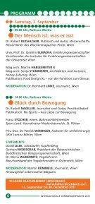 Sommergespräche 2011 - Waldviertel Akademie - Page 6