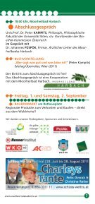 Sommergespräche 2011 - Waldviertel Akademie - Page 7