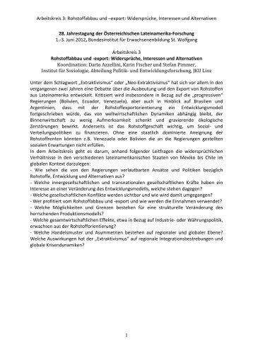Programm des Workshops 3 als PDF