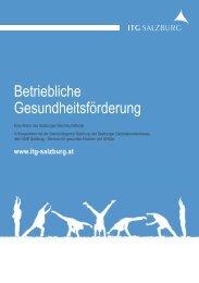 Broschüre BGF Förderaktion - bei der Salzburger ...