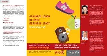 Gesund leben - Wiener Gesundheitsförderung
