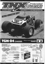 Tamiya TNX 5.2R Manual - Wheelsacademy.info