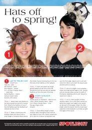 to spring! - Spotlight Promotions