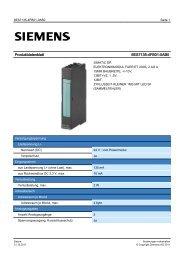 Product data sheet 6ES7135-4FB01-0AB0 - TP Automation e.K.