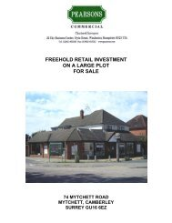 freehold retail investment on a large plot for sale - Propex