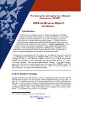 2004 Institutional Report: Overview - Lamar State College-Orange