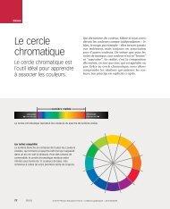 Le cercle chromatique - Pearson