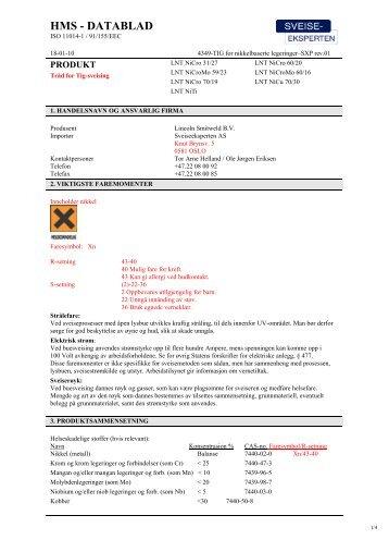 4349-TIG for nikkelbaserte legeringer.pdf - Sveiseeksperten