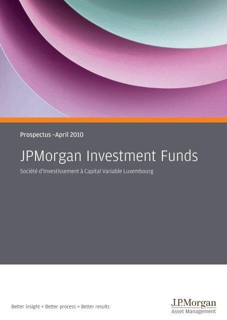 Jpmorgan investment funds kiid scalping the e mini futures forex
