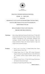 Nomor 24 Tahun 2010 tentang Kedudukan, Tugas, dan ... - JDI Hukum
