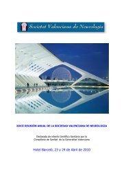 Programa definitivo de la Reunión - Sociedad Valenciana de ...