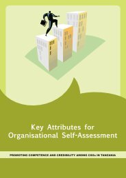 Key Attributes for Organisational Self-Assessment - Aga Khan ...