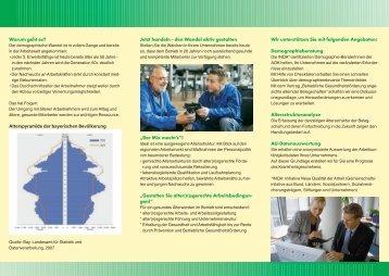 Gesund älter werden im Beruf - Institut für Betriebliche ...