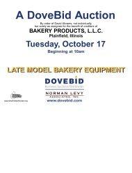 Bakery Prod brochure