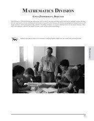 MATHEMATICS DIVISION - Adlai E. Stevenson High School