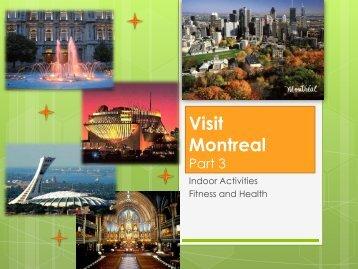 Visit Montreal Part 3 - John Abbott College