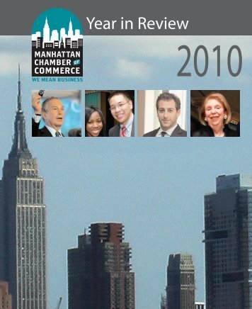 MCC 2010 Year in Review [pdf] - Manhattan Chamber of Commerce