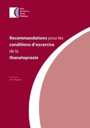 Rapport - Haut Conseil de la santé publique