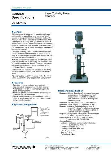 TB600G Laser Turbidity Meter