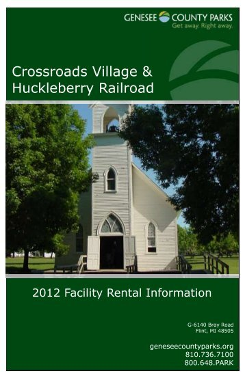 Crossroads Village & Huckleberry Railroad - Genesee County Parks ...