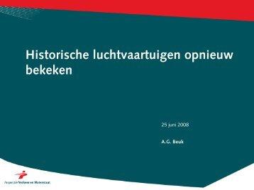 Historische luchtvaartuigen opnieuw bekeken - Ctz.zweefportaal.nl