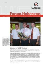 Ausgabe 02/2007 (1,7 MB) - Wirtschaftsgemeinschaft Hohenems