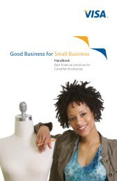 Good Business for Small Business - Visa