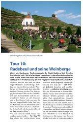 Tour 10: Radebeul und seine Weinberge
