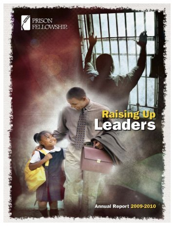 PF 2010 Annual Report.qxp - Prison Fellowship