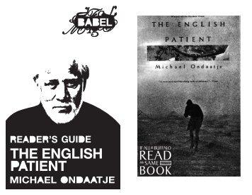 Michael Ondaatje - Just Buffalo Literary Center